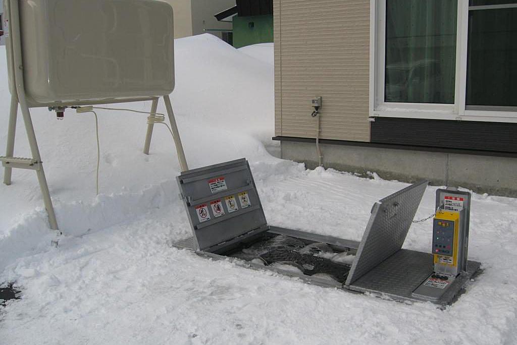 「融雪王」HS-2200シリーズ 施工例
