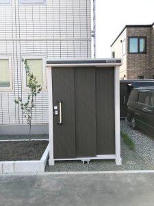札幌市西区Y様邸 カーポートおよび物置設置工事-6