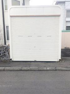 札幌市手稲区O様邸 車庫内アスファルト工事・縁石切下げ工事-2