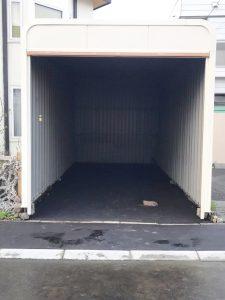札幌市手稲区O様邸 車庫内アスファルト工事・縁石切下げ工事-4