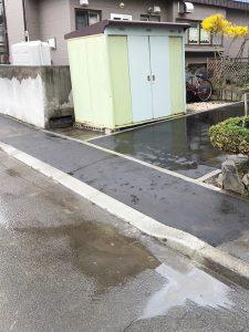 札幌市手稲区S様邸 アスファルト工事・縁石切下げ工事-4