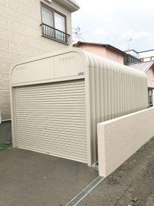 札幌市北区S様邸 車庫および塀の補修・アスファルト工事-2