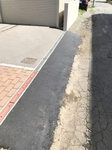 札幌市北区S様邸 車庫および塀の補修・アスファルト工事-6