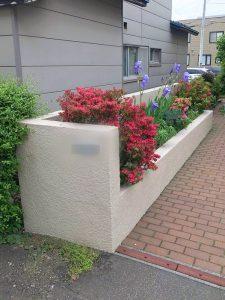 札幌市北区S様邸 車庫および塀の補修・アスファルト工事-4
