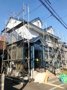 札幌市東区T様邸 屋根板金葺替・外壁塗装・室内リフォーム・外構工事-1
