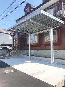 札幌市東区T様邸 屋根板金葺替・外壁塗装・室内リフォーム・外構工事-7