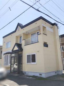 札幌市北区Y様邸 雪庇防止工事-1