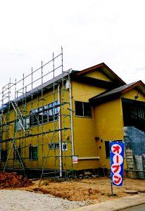 札幌市東区S様邸温水アラスカ工事 ⑭全景