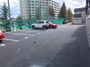札幌市清田区K様Kアパート アスファルト補修工事-3