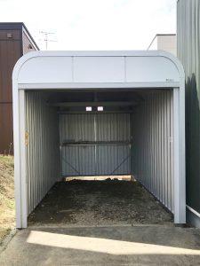 岩見沢市S様邸車庫内路盤改良・土留工事-2