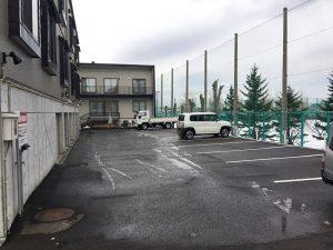 札幌市清田区K様Kアパート アスファルト補修工事-2