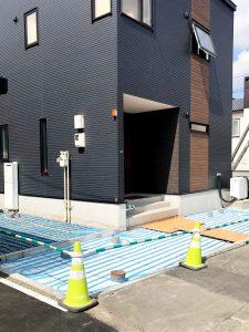 札幌市白石区F様邸 ガス式温水ロードシステム工事-4