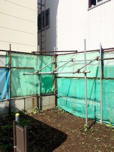 2020年7月施工 札幌市東区K様邸 単管・ネット交換工事-2