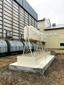 2020年6月岩見沢市I社様工場 防油堤設置工事-3