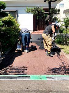 2020年7月施工 札幌市中央区S様邸アスファルト工事-3