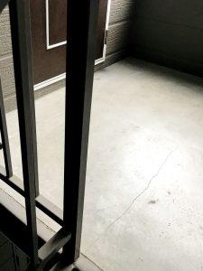 2020年7月施工岩見沢市O様邸セーフティパネル(ゴムチップマット)工事-1