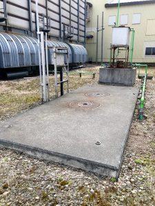 2020年6月岩見沢市R様 防油堤設置工事-1