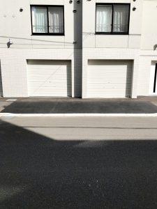 2020年6月 札幌市白石区V様AP 歩道縁石切下工事-4