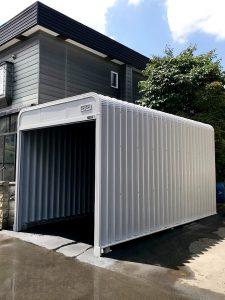 2020年7月施工 札幌市北区 Y様邸 車庫解体およびアスファルト工事-3