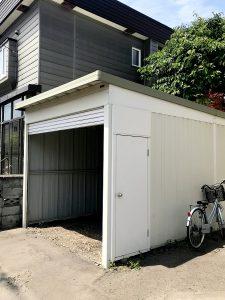 2020年7月施工 札幌市北区 Y様邸 車庫解体およびアスファルト工事-1