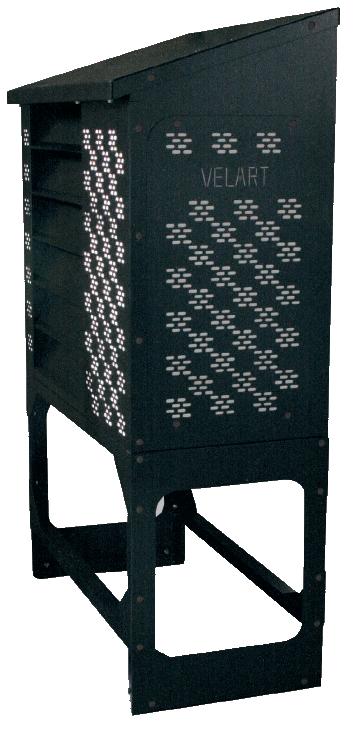室外機カバーユニット ヴェルアート 側面