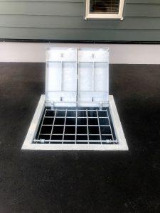 2020年9月施工 中央区K様邸都市ガス融雪槽快冬くんⅡ設置工事-4