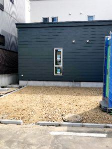 2020年9月施工 中央区K様邸都市ガス融雪槽快冬くんⅡ設置工事-1