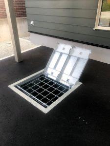 2020年9月施工 中央区K様邸都市融雪槽ガス快冬くんⅡ設置工事-5