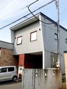 2020年10月完工 札幌市北区S様邸 セッピ防止工事-施工前
