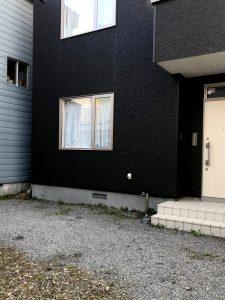 札幌市白石区I様邸 埋設型融雪機 融雪王DS設置工事-1