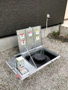札幌市白石区I様邸 埋設型融雪機 融雪王DS設置工事-4