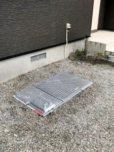 札幌市白石区I様邸 埋設型融雪機 融雪王DS設置工事-2