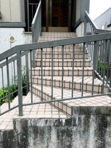 2020年9月施工 南区H様邸セーフティパネル(ゴムチップパネル)設置工事-1