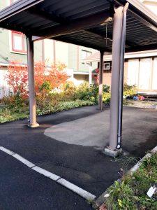 2020年11月 札幌市厚別区Y様邸 電気ロードヒーティング工事-施工前