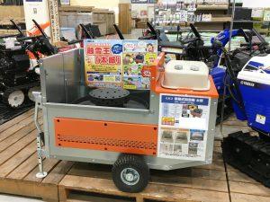 2020年 ホーマック石川店 移動式融雪機「太郎」展示