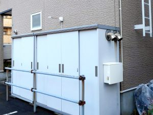 2020年10月施工 札幌市中央区 S様パーキング ロードヒーティング遠隔監視システム-2 ボイラー庫