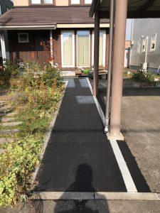 2020年11月 札幌市厚別区Y様邸 電気ロードヒーティング工事-施工後1