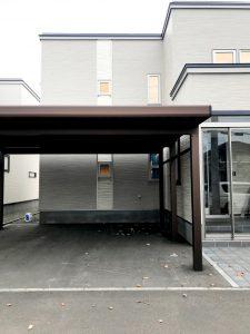 2020年11月 札幌市北区T様邸 融雪王HS-2200-5GM設置工事-施工前