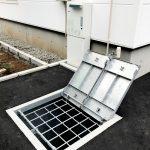 2020年11月施工 札幌市西区 A様邸 温水式(都市ガス)埋設型融雪槽 快冬くんⅱ設置工事-設置後4