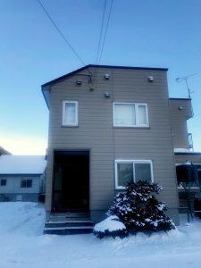 2020年12月 札幌市南区 A様邸 アラスカ工事 施工前-1