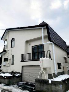 2020年12月 札幌市西区 N様邸 他社屋根融雪からアラスカへ改修工事 施工後-1