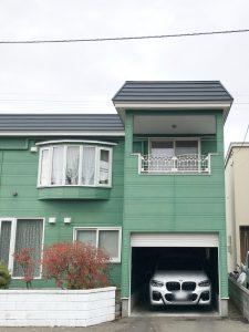 2020年12月施工 札幌市西区 A様邸 セッピ防止工事-施工前2