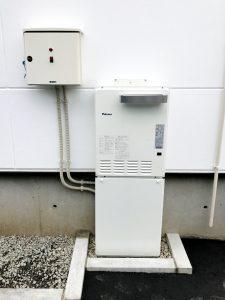 2020年11月施工 札幌市西区 A様邸 温水式(都市ガス)埋設型融雪槽 快冬くんⅱ設置工事-設置後1