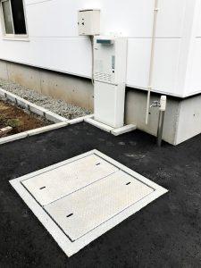 2020年11月施工 札幌市西区 A様邸 温水式(都市ガス)埋設型融雪槽 快冬くんⅱ設置工事-設置後2