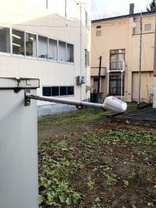 2020年12月 中央区 H様邸およびMS 降雪センサー交換工事-MS Aセンサー本体 施工前