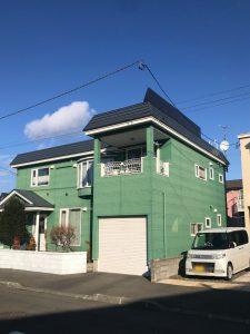 2020年12月施工 札幌市西区 A様邸 雪庇防止工事-施工後2