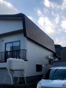 2020年12月 札幌市西区 N様邸 他社屋根融雪からアラスカへ改修工事 施工前-1