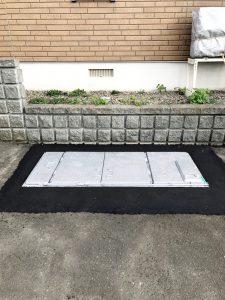 2021年5月施工 岩見沢市M様邸 他社融雪機から融雪王への入替工事-2