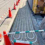 2021年4月施工 札幌市西区T様邸 歩道温水ロードヒーティング工事-3