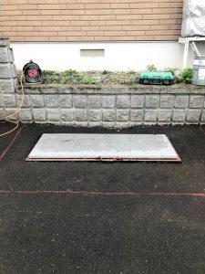 2021年5月施工 岩見沢市M様邸 他社融雪機から融雪王への入替工事-1